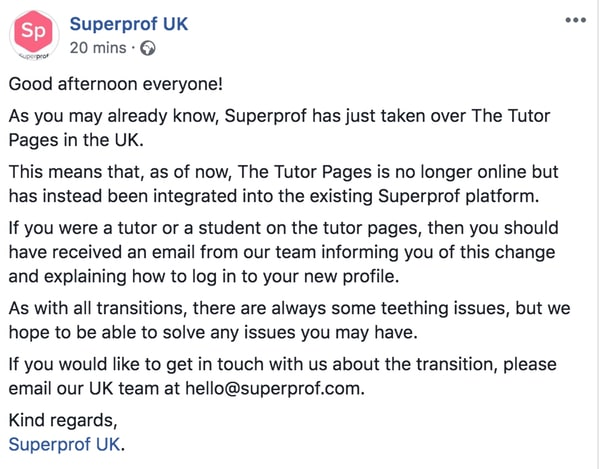 Superprof fb