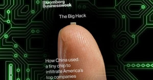 China accused of sabotaging thousands of servers at major US companies with tiny microchips hidden on motherboards
