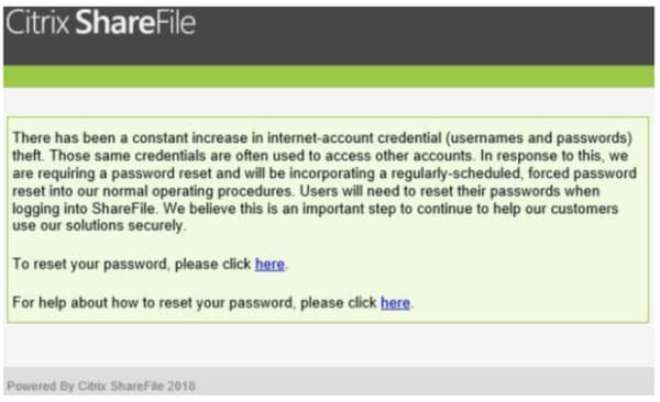 Sharefile email
