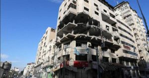 Israel bombs building containing alleged Hamas hackers