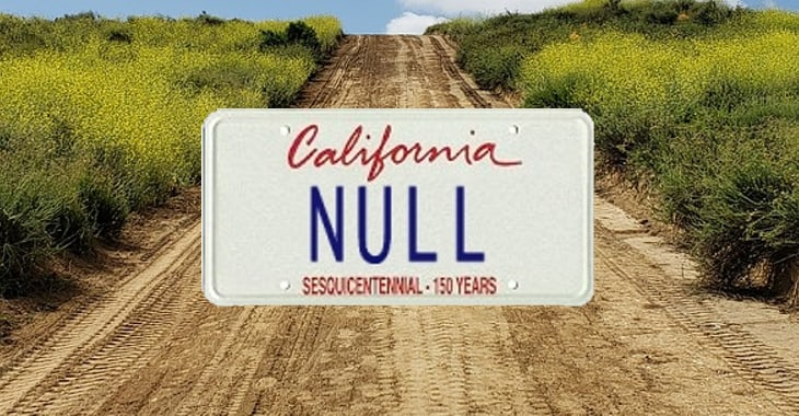 """NULL"" vanity plate hack to dodge parking tickets fails to the tune of $12,000"