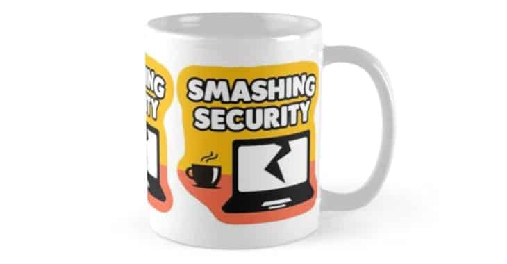 "You really should listen to the award-winning ""Smashing Security"" podcast"