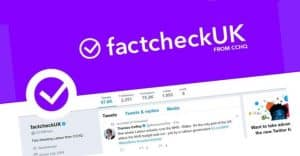 Twitter warns verified users against attempts to mislead public after Conservative factcheckUK stunt