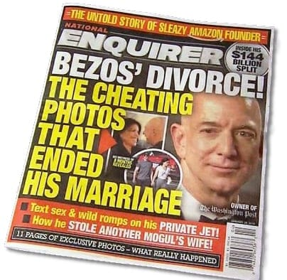 National enquirer Jeff Bezos