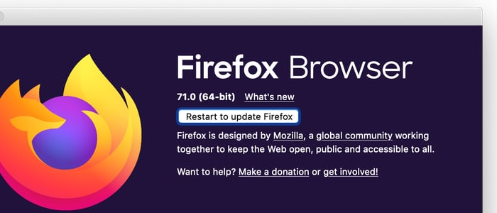 Unpatched firefox