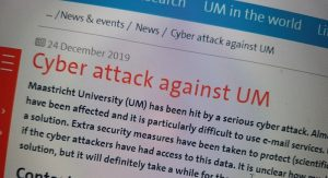 Dutch university paid $220,000 ransom to hackers after Christmas attack
