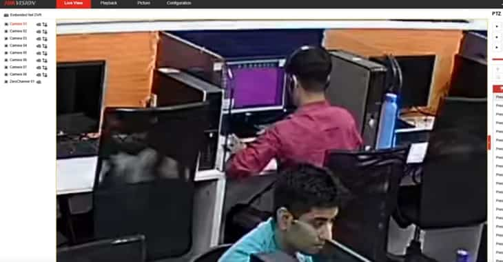 Police raid tech support scam centre who had their CCTV hacked by vigilantes