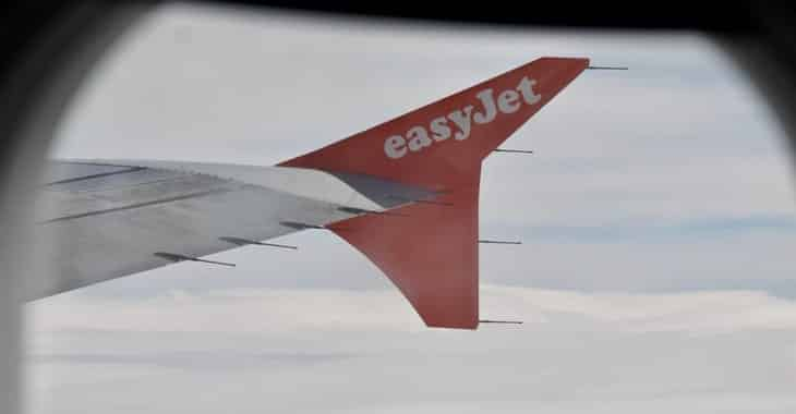 EasyJet emails its customers