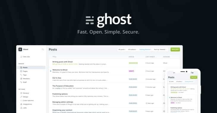 Ghost suffers security breach