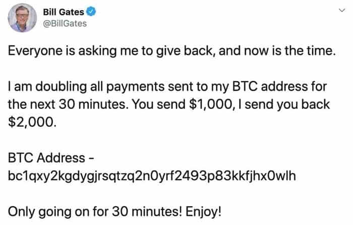Gates tweet