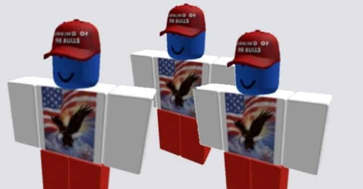 comment hacker roblox 2020 Has Your Roblox Account Been Hacked To Support Donald Trump Graham Cluley