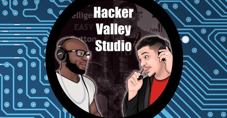 Appearing on the Hacker Valley Studio podcast