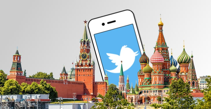 Hackers hijack Twitter account of Russia's Ministry of Foreign Affairs, offer to sell stolen data