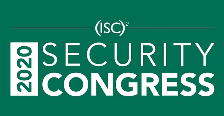 Hear me keynote at the (ISC)² Security Congress