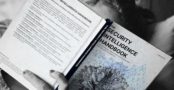 Get the free Security Intelligence Handbook from Recorded Future