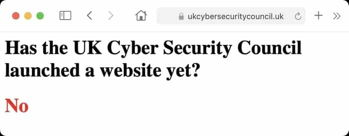 Not website