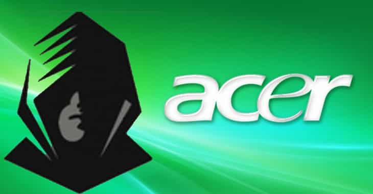 Acer hacked (for the second time this year)