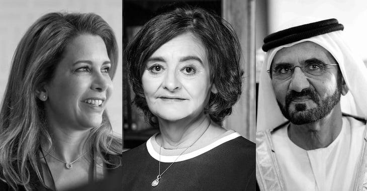 Cherie Blair y el gobernante de Dubai que espió el teléfono de su ex esposa con el software espía Pegasus